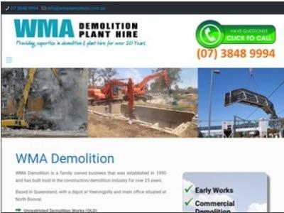 WMA-Demolition