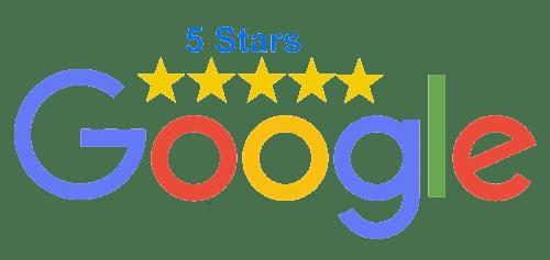 5 star Reviews Google